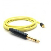 High Quality Stereo Plug 6.35 mm (1/4 Inch) To 3.5 mm Stereo Audio Jack Amplifier Guitar Cable (1.5 Mtr.)