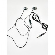 3G Gold Earphones (HF-501) Stylishly Designed Premium Looking Handsfree with Tangle-free cable - SILVER