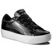 Puma Sneakersy PUMA - Vikky Platform Ribbon P 366419 01 Puma Black/Puma Black