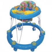 Ehomekart Blue Winny Round Musical Walker for Kids