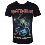 tricou stil metal bărbați Iron Maiden - No Prayer On The Road - ROCK OFF - IMTEE63MB