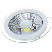 Spot LED 15W Rotund COB Sticla