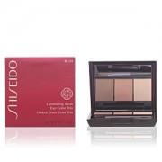 Shiseido LUMINIZING SATIN eye color trio #BE213-nude