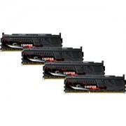 Memorie G.Skill Sniper 16GB (4x4GB) DDR3 PC3-17000 CL10 1.60V 2133MHz Dual Channel Quad Kit, F3-2133C10Q-16GSR