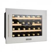 Klarstein KLARSTEIN VINSIDER 24D, frigider integrat de vin, 24 de sticle, oțel inoxidabil (HEA3- Vinsider-24D)