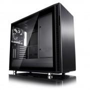 CASE, Fractal Design Define R6 USB-C Blackout TG, Window, Black /no PSU/ (FD-CA-DEF-R6C-BKO-TGL)