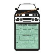 Etui porte assurance voiture BMW M3