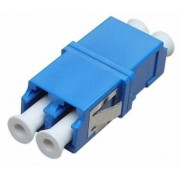 Duplex Fiber Optical Coupler Female-Female LC UPC Single Mode Fiber Cable Joiner