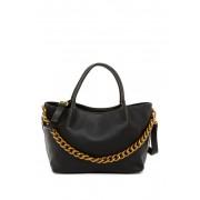 Deux Lux Roma Hand Tote Bag BLACK BRA