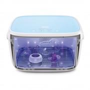 59S T5-BAT UVC LED fertőtlenítő doboz 904087 (kék akkumulátorral)