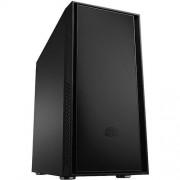 Carcasa Silencio 550, MiddleTower, Fara sursa, Negru Mat