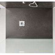 AGHA Plato de ducha Stone Effect Stone 100x80 en 8 colores - color: Tortora