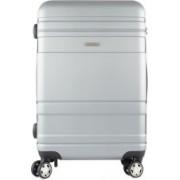 Vajero Unisex Trolley Bag Regular Grey Check-in Luggage - 27 inch(Grey)