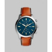 Fossil Fossil FS5279 Blue/Brown Blå