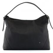 Luxusní kožená kabelka přes rameno Yoshi černá
