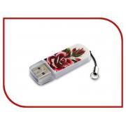 USB Flash Drive 16Gb - Verbatim Mini Tattoo Edition USB 2.0 Rose 49885