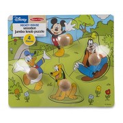 Disney Baby Mickey Mouse and Friends Wooden Jumbo Knob Puzzle