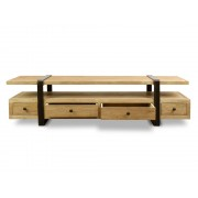 CTV592 Reclaimed Lowline TV Entertainment Unit (cf)