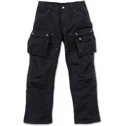 Carhartt Duck Multi Pocket Tech Pantalones Negro 36