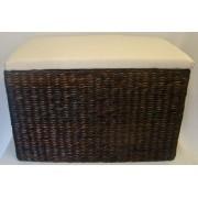 185-74/BR - rattan bútorok, szennyestartó