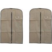 PRAHAN INTERNATIONAL Men's Coat Blazar Cover Bag Suit cover Pack of2 PIS-C2B066(Ivory)
