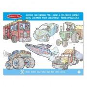 Auto kleurboek voor jongens 50 blz