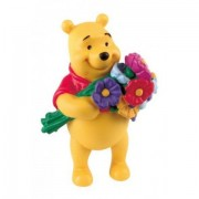 Figurina Winnie the Pooh si buchetul de flori Bullyland