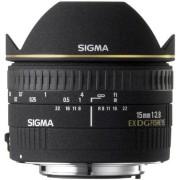 Sigma 15mm F/2.8 EX DG DIAGONAL Fisheye - CANON - 2 Anni Di Gar. In Italia
