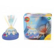 Lampa de veghe muzicala pentru bebelusi cu proiector SIMBA