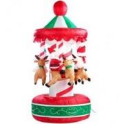 Infactory Carrousel de Noël gonflable
