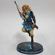 Original The Legend of Zelda PVC Action Figure Anime Game Zelda Link Breath of the Wild Collectible Model Toy 32cm