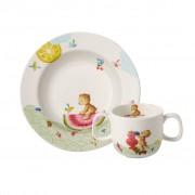 Villeroy & Boch Hungry as a Bear Ensemble de vaisselle pr enfants, 2 pcs