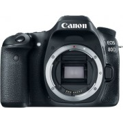 Digitalni foto-aparat Canon EOS 80D, Telo, Crna