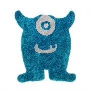 Tapijt Soft Monster - turquoise - maat: 120x100cm, Tom Tailor