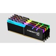 G.SKILL Trident Z RGB RAM Module - 64 GB (4 x 16 GB) - DDR4-3200/PC4-25600 DDR4 SDRAM - CL14 - 1.35 V