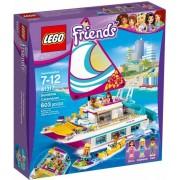 Lego Klocki konstrukcyjne Friends Słoneczny Katamaran 41317