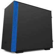 Carcasa NZXT H200 Matte Black/Blue