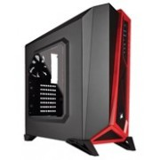 Corsair Carbide SPEC-ALPHA Computer Case - Mini ITX, Micro ATX, ATX Motherboard Supported - Mid-tower - Steel - Black, Red - 5.70 kg