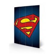 Tablou pe lemn DC Comics Superman Symbol