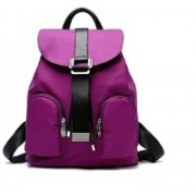 Aeoss New Style Fashionable Women's Backpack Bag, Spring and Summer New Style Students Fashion Leisure Korean Version of Women's Bag Purple 20 Backpack(Purple)