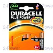 Duracell Plus Power AAA 8 Pack
