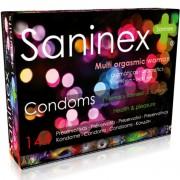 Saninex multiorgasmic woman preservativos 144 uds