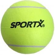 Set van 4x stuks Jumbo super grote tennisballen XXL - buiten speelgoed ballen