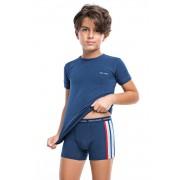 Fiú alsónemű szett II, póló és boxeralsó sötétkék