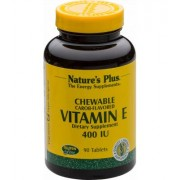 Natures Plus Vitamin E 400 IE, 90 Lutschtabletten