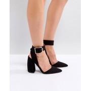 ASOS DESIGN Туфли на высоком каблуке ASOS PACIFIC - Черный
