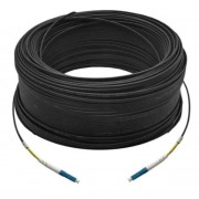 150M Simplex Single Mode UPC LC-LC Fiber Optic Cable Fiber Patch Cord Outdoor Drop Cable