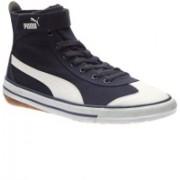 Puma 917 Mid DP Canvas Shoes For Men(Blue)