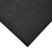 Černá gumová protiskluzová protiúnavová průmyslová rohož - 18,3 m x 90 cm x 0,9 cm (80000576) FLOMAT