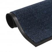 vidaXL négyszögletes szennyfogó szőnyeg 120 x 180 cm kék